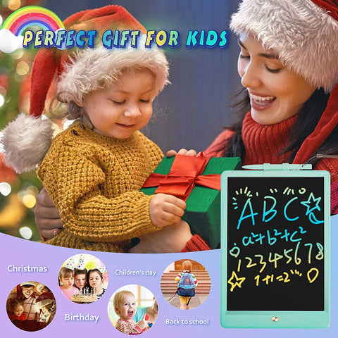 Enjoy fast, free nationwide shipping!  Owned by a husband and wife team of high-school music teachers, Redtailtoys.com is your one stop shop for quality toys & gifts like our Erasable Colorful Drawing Tablet Writing Pad Kids.