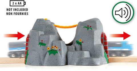 Enjoy free fast shipping on ethically made, custom handcrafted toys & baby shower gifts at Redtailtoys.com like our Adventure Tunnel - Toy Train Accessory.  Shop quality Montessori, educational, learning, Waldorf, building, creative, free-play, imaginative play, safe, eco-friendly, imported and USA-handmade wooden toys.