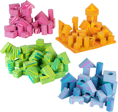 Enjoy fast, free nationwide shipping!  Owned by a husband and wife team of high-school music teachers, Redtailtoys.com is your one stop shop for quality toys & gifts like our 140 Piece Soft Multi-Colored Building Blocks Sets.