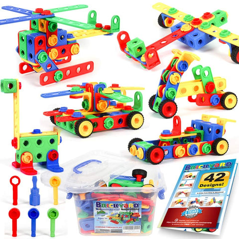 Enjoy fast, free nationwide shipping!  Owned by a husband and wife team of high-school music teachers, Redtailtoys.com is your one stop shop for quality toys & gifts like our 163 Piece STEM Toys Kit.