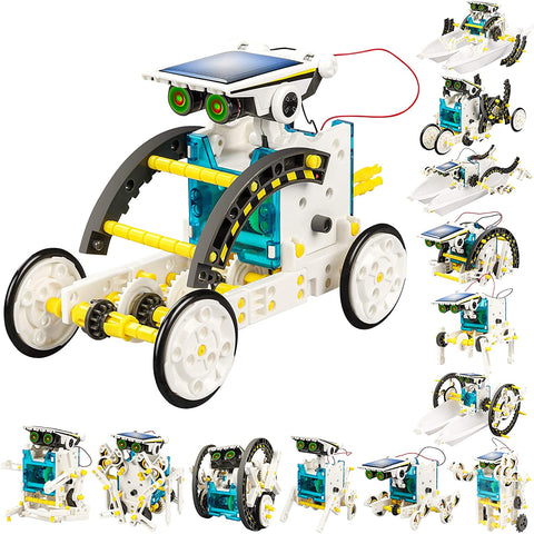 Enjoy fast, free nationwide shipping!  Owned by a husband and wife team of high-school music teachers, Redtailtoys.com is your one stop shop for quality toys & gifts like our 13-in-1 Solar Power Robots Creation Toy.