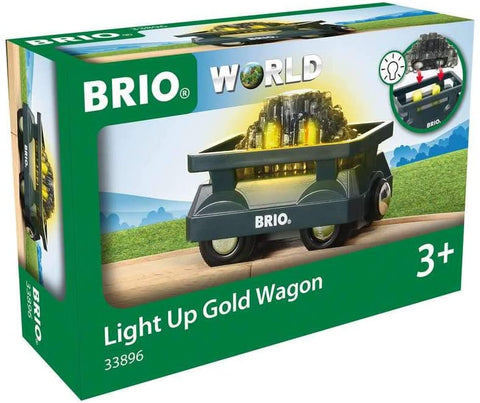 Enjoy fast, free nationwide shipping!  Owned by a husband and wife team of high-school music teachers, Redtailtoys.com is your one stop shop for quality toys & gifts like our 2 Piece Light Up Gold Wagon.