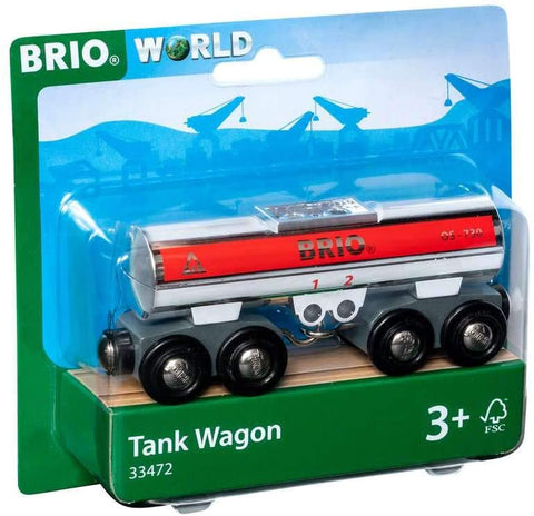 Wood and Plastic Tanker Wagon