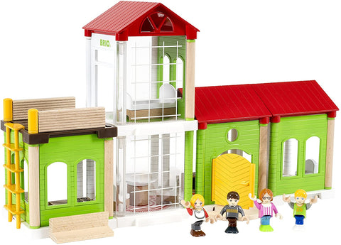 Enjoy free fast shipping on ethically made, custom handcrafted toys & baby shower gifts at Redtailtoys.com like our Family House - 46 Piece Play House.  Shop quality Montessori, educational, learning, Waldorf, building, creative, free-play, imaginative play, safe, eco-friendly, imported and USA-handmade wooden toys.