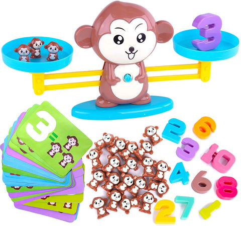 Enjoy fast, free nationwide shipping!  Owned by a husband and wife team of high-school music teachers, Redtailtoys.com is your one stop shop for quality toys & gifts like our Monkey Balance Cool Math Game for Girls & Boys.