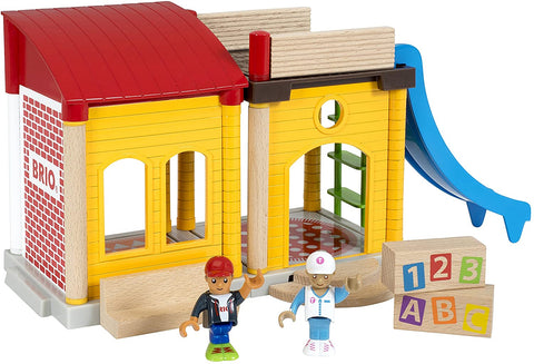 Enjoy free fast shipping on ethically made, custom handcrafted toys & baby shower gifts at Redtailtoys.com like our Village School Playset.  Shop quality Montessori, educational, learning, Waldorf, building, creative, free-play, imaginative play, safe, eco-friendly, imported and USA-handmade wooden toys.