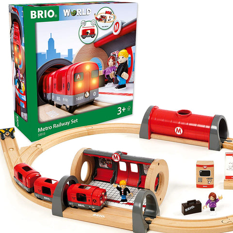 Enjoy fast, free nationwide shipping!  Owned by a husband and wife team of high-school music teachers, Redtailtoys.com is your one stop shop for quality toys & gifts like our 20 Piece Train Toy with Accessories and Wooden Tracks.