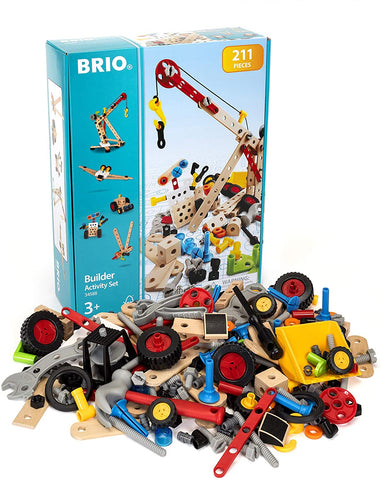 Builder Activity Set - 211 Piece Building Set STEM Toy