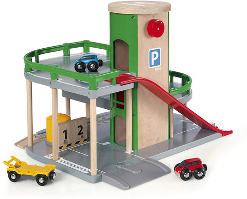 Enjoy fast, free nationwide shipping!  Owned by a husband and wife team of high-school music teachers, Redtailtoys.com is your one stop shop for quality toys & gifts like our Parking Garage, Railway Accessory with Toy Cars.