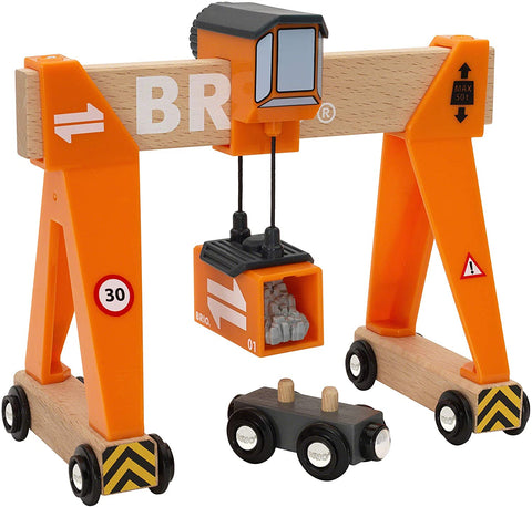 Enjoy fast, free nationwide shipping!  Owned by a husband and wife team of high-school music teachers, Redtailtoys.com is your one stop shop for quality toys & gifts like our Gantry Crane - 4 Piece Gantry Crane Toy.