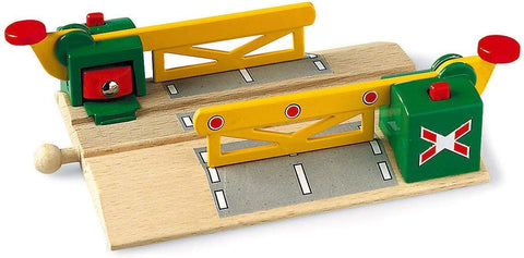 Enjoy free fast shipping on ethically made, custom handcrafted toys & baby shower gifts at Redtailtoys.com like our Magnetic Action Crossing - Toy Train Accessory.  Shop quality Montessori, educational, learning, Waldorf, building, creative, free-play, imaginative play, safe, eco-friendly, imported and USA-handmade wooden toys.
