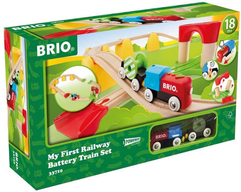 Railway Battery Operated Train Set