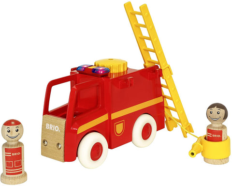 Enjoy fast, free nationwide shipping!  Owned by a husband and wife team of high-school music teachers, Redtailtoys.com is your one stop shop for quality toys & gifts like our Town Light & Sound Firetruck - 5 Piece Firetruck Toy.
