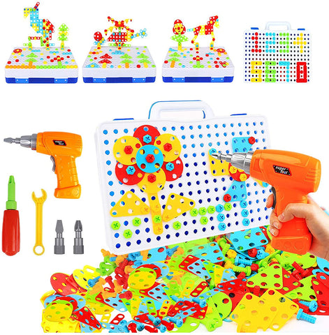 Enjoy fast, free nationwide shipping!  Owned by a husband and wife team of high-school music teachers, Redtailtoys.com is your one stop shop for quality toys & gifts like our 237 Pieces Electric DIY Drill Educational Set.