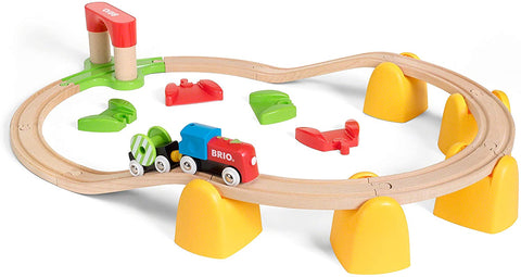 Enjoy free fast shipping on ethically made, custom handcrafted toys & baby shower gifts at Redtailtoys.com like our Railway Battery Operated Train Set.  Shop quality Montessori, educational, learning, Waldorf, building, creative, free-play, imaginative play, safe, eco-friendly, imported and USA-handmade wooden toys.