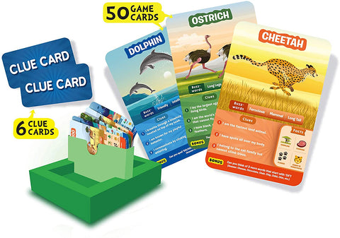 Guess in 10 Animal Planet Card Game