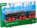 Enjoy fast, free nationwide shipping!  Owned by a husband and wife team of high-school music teachers, Redtailtoys.com is your one stop shop for quality toys & gifts like our Speedy Bullet Train - 2 Piece Train Toy.