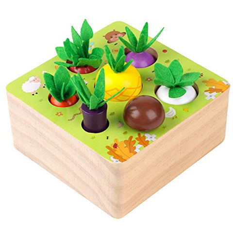 Parent-Child Interaction Preschool Vegetables Toys