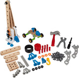 Enjoy free fast shipping on ethically made, custom handcrafted toys & baby shower gifts at Redtailtoys.com like our Builder Construction Set with Wood and Plastic Pieces.  Shop quality Montessori, educational, learning, Waldorf, building, creative, free-play, imaginative play, safe, eco-friendly, imported and USA-handmade wooden toys.