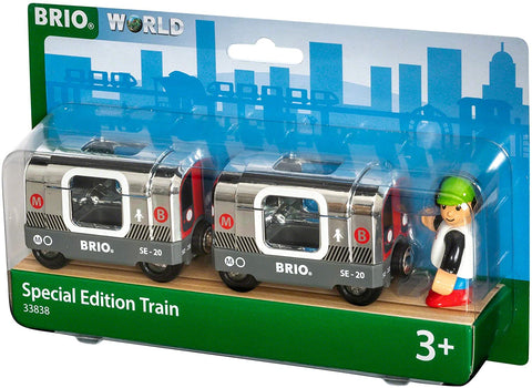 3 Piece Wooden Toy Train Set
