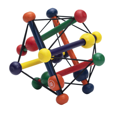 Enjoy fast, free nationwide shipping!  Owned by a husband and wife team of high-school music teachers, Redtailtoys.com is your one stop shop for quality toys & gifts like our Wood Skwish Classic Rattle and Teether Grasping Activity Toy.
