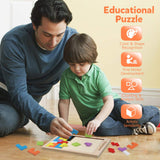 Enjoy fast, free nationwide shipping!  Owned by a husband and wife team of high-school music teachers, Redtailtoys.com is your one stop shop for quality toys & gifts like our Wooden Blocks Puzzle Brain Teasers Toy Tangram Jigsaw Intelligence.