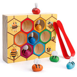 Enjoy fast, free nationwide shipping!  Owned by a husband and wife team of high-school music teachers, Redtailtoys.com is your one stop shop for quality toys & gifts like our Clamp Bee to Hive Matching Game.