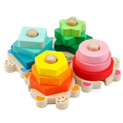 Enjoy fast, free nationwide shipping!  Owned by a husband and wife team of high-school music teachers, Redtailtoys.com is your one stop shop for quality toys & gifts like our Wooden Stacking Toys for Toddler.