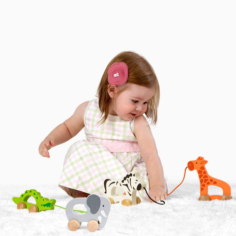 Enjoy fast, free nationwide shipping!  Owned by a husband and wife team of high-school music teachers, Redtailtoys.com is your one stop shop for quality toys & gifts like our Elephant Wooden Push and Pull Toddler Toy.