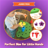 Enjoy fast, free nationwide shipping!  Owned by a husband and wife team of high-school music teachers, Redtailtoys.com is your one stop shop for quality toys & gifts like our Peg Board Stacking Toddler Toys.