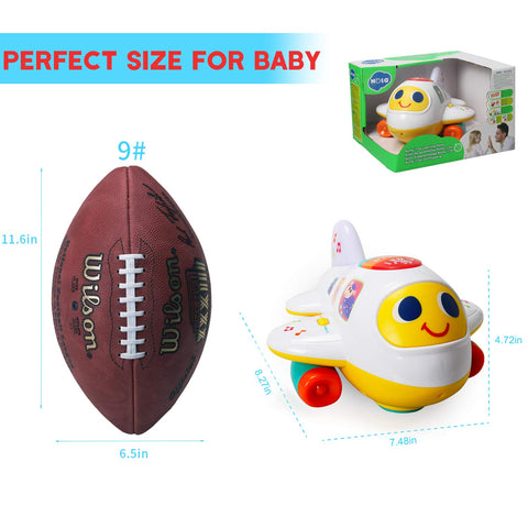 Huile Baby Toys Electronic Airplane Toy