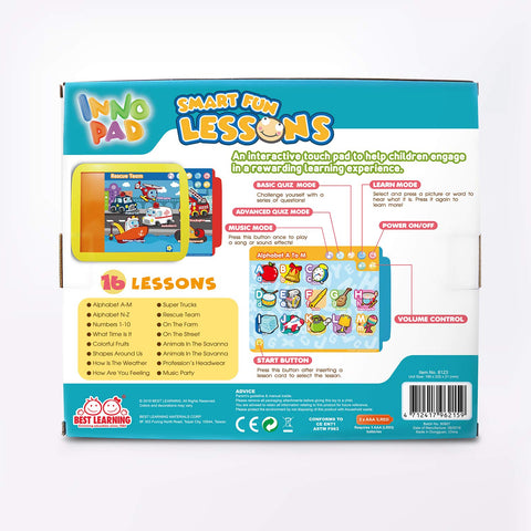 Educational Tablet Toy to Learn for kids