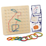 Enjoy fast, free nationwide shipping!  Owned by a husband and wife team of high-school music teachers, Redtailtoys.com is your one stop shop for quality toys & gifts like our Mathematical Manipulative Material Array Block Geo Board.