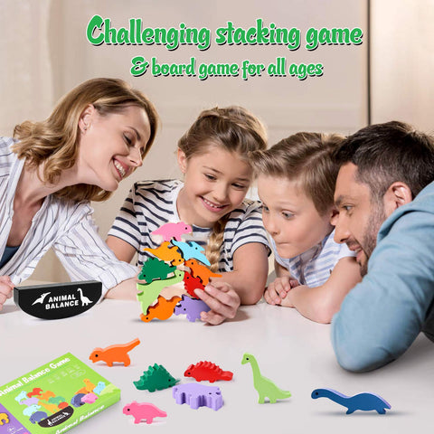 Enjoy fast, free nationwide shipping!  Owned by a husband and wife team of high-school music teachers, Redtailtoys.com is your one stop shop for quality toys & gifts like our Stacking Dinosaur Toys for Kids Wooden Balance Blocks for Pre-Schoolers.