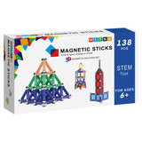 Enjoy fast, free nationwide shipping!  Owned by a husband and wife team of high-school music teachers, Redtailtoys.com is your one stop shop for quality toys & gifts like our 350 Pieces Magnetic Building Sticks Blocks.