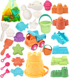Enjoy fast, free nationwide shipping!  Owned by a husband and wife team of high-school music teachers, Redtailtoys.com is your one stop shop for quality toys & gifts like our Beach Toy, 26Pcs Kids Beach Sand Toys Set Eco-Friendly Sand.