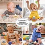 Enjoy fast, free nationwide shipping!  Owned by a husband and wife team of high-school music teachers, Redtailtoys.com is your one stop shop for quality toys & gifts like our 6 PCS Baby Stacking & Nesting Toys.