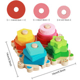 Enjoy fast, free nationwide shipping!  Owned by a husband and wife team of high-school music teachers, Redtailtoys.com is your one stop shop for quality toys & gifts like our Montessori Educational Puzzle Blocks Toys.