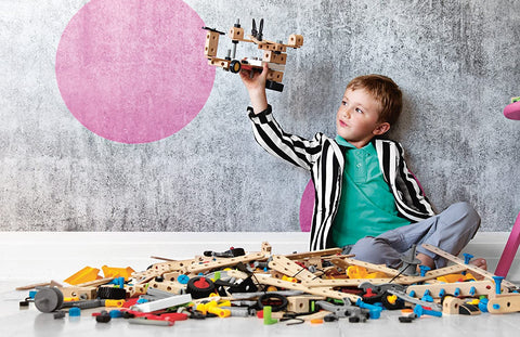 Enjoy fast, free nationwide shipping!  Owned by a husband and wife team of high-school music teachers, Redtailtoys.com is your one stop shop for quality toys & gifts like our Builder Starter Set - 49 Piece Building Set STEM Toy.