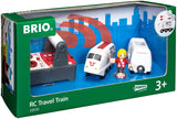 Remote Control Travel Train - 4 Piece Train Toy