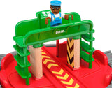 Enjoy fast, free nationwide shipping!  Owned by a husband and wife team of high-school music teachers, Redtailtoys.com is your one stop shop for quality toys & gifts like our Turntable & Figure - 2 Piece Wooden Toy Train Accessory.