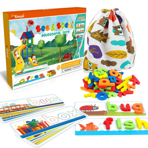 Enjoy fast, free nationwide shipping!  Owned by a husband and wife team of high-school music teachers, Redtailtoys.com is your one stop shop for quality toys & gifts like our See & Spell Learning Educational Toys for kids.