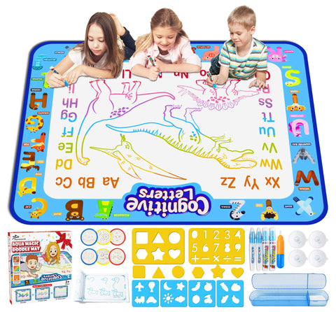 Enjoy fast, free nationwide shipping!  Owned by a husband and wife team of high-school music teachers, Redtailtoys.com is your one stop shop for quality toys & gifts like our Extra Large Water Drawing Doodling Mat.
