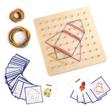Enjoy fast, free nationwide shipping!  Owned by a husband and wife team of high-school music teachers, Redtailtoys.com is your one stop shop for quality toys & gifts like our Block Geo board with 36Pcs Pattern Cards.