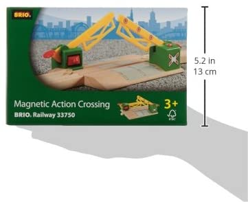 Magnetic Action Crossing - Toy Train Accessory