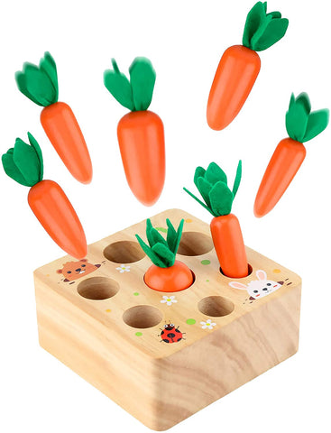 Carrot Shape Size Sorting Game
