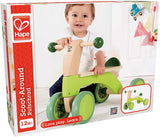 Enjoy fast, free nationwide shipping!  Owned by a husband and wife team of high-school music teachers, Redtailtoys.com is your one stop shop for quality toys & gifts like our Bright Green Scoot Around Ride On Wood Bike.