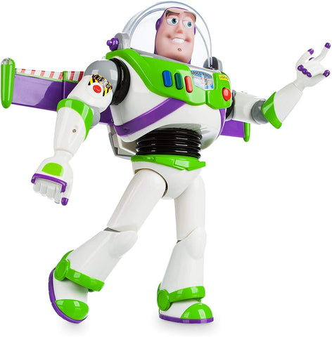 Enjoy fast, free nationwide shipping!  Owned by a husband and wife team of high-school music teachers, Redtailtoys.com is your one stop shop for quality toys & gifts like our Buzz Lightyear Interactive Talking Action Figure.