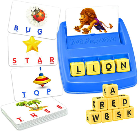 Enjoy fast, free nationwide shipping!  Owned by a husband and wife team of high-school music teachers, Redtailtoys.com is your one stop shop for quality toys & gifts like our Matching Letter Game for Kids.