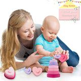 Enjoy fast, free nationwide shipping!  Owned by a husband and wife team of high-school music teachers, Redtailtoys.com is your one stop shop for quality toys & gifts like our Baby Silicone Colorful Building Stacker.
